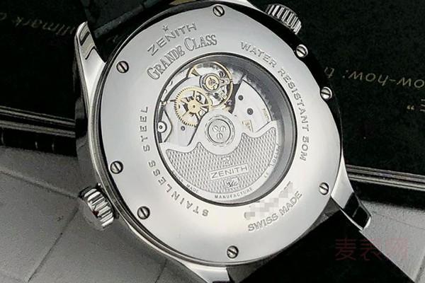 真力时手表回收价格受什么影响?