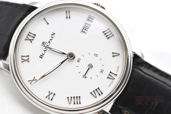 宝珀6652手表回收多少钱合适?