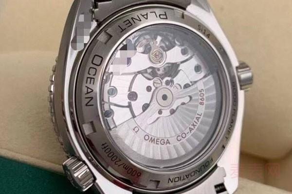 原价为五万欧米茄手表回收行情最近不错