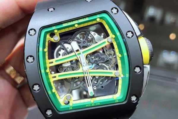 回收里查德米尔手表价格屡屡创新高