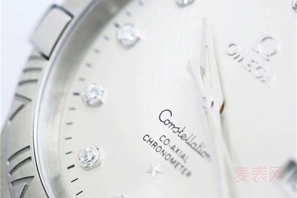 欧米茄星座35毫米表径二手表能卖多少钱?