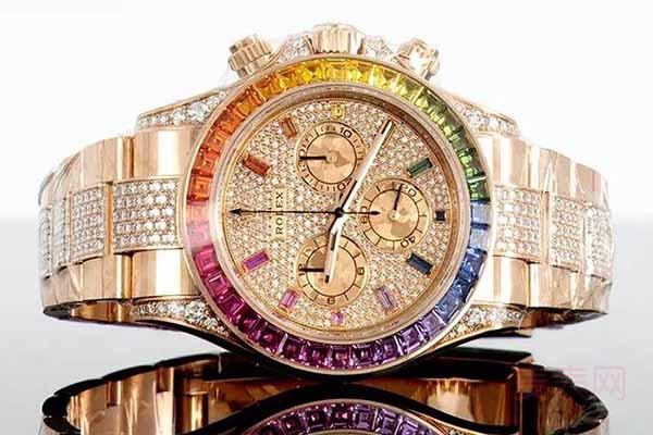黄金钻石手表回收价格最新调控