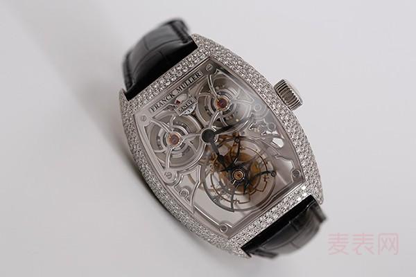 线上回收法穆兰二手手表逐渐膨胀
