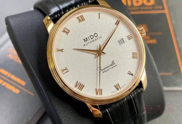 三年的美度手表能卖多少钱附件很重要