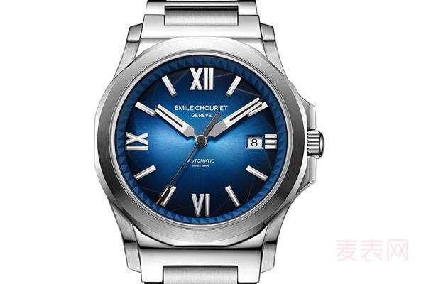 艾米龙冰峰系列手表回收水有多深?