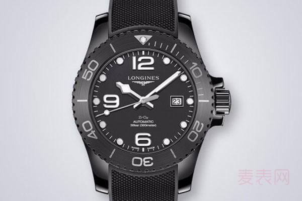 浪琴二手手表回收折损多少不算亏
