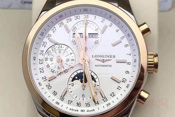 刚买的浪琴手表请问回收值多少钱