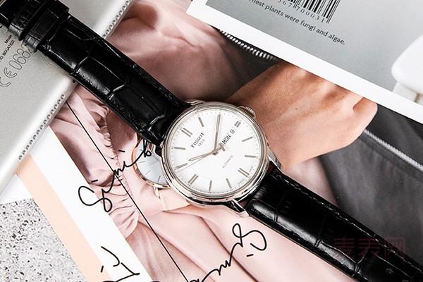 回收佩戴不到一年的天梭二手表能卖多少钱
