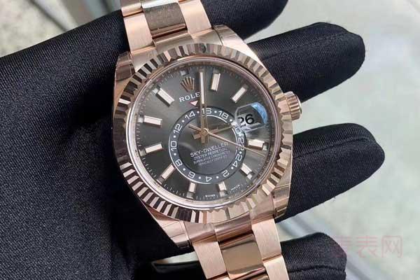 回收劳力士黄金手表价格表最高能有多少