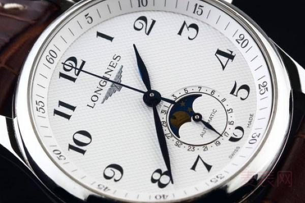 浪琴月相手表回收价格查询出人意料