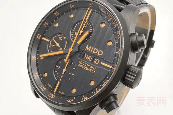 美度手表的舵手系列一般多少钱回收