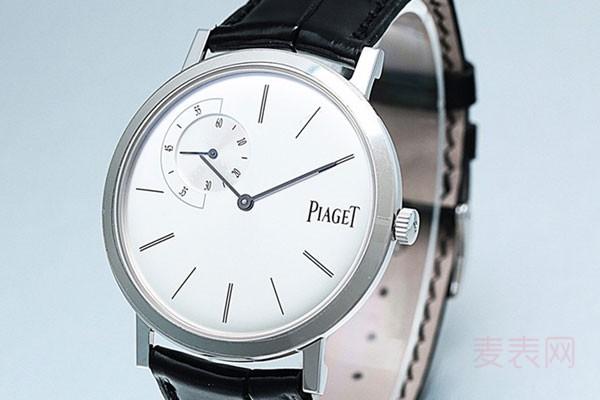 二手伯爵白金版手表能卖多钱