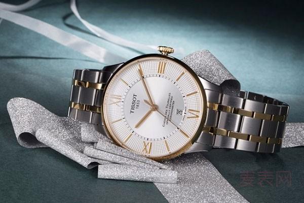 坏了的二手天梭手表能回收吗