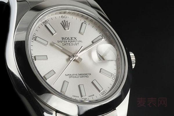 老款劳力士日志型手表回收价格蹭蹭上涨