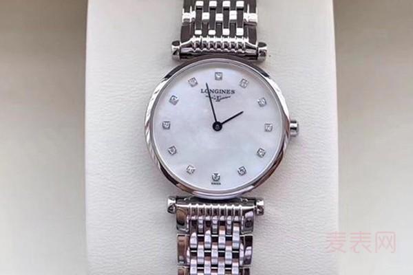 回收浪琴嘉岚系列手表能卖多少钱