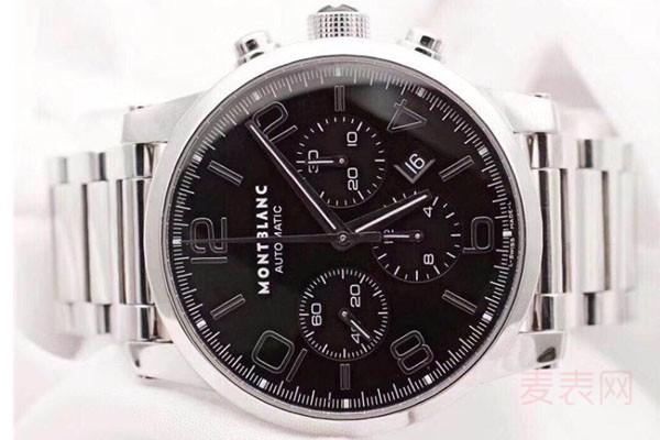 万宝龙时光行手表09668二手回收能卖到多少钱