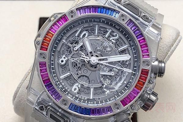 一般二手表回收会给打几折