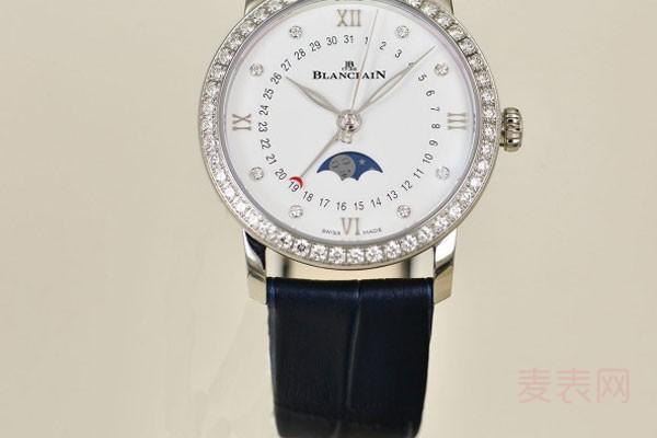 回收宝珀手表价格是多少 回收还理想吗