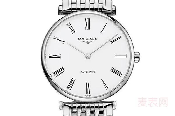 浪琴超薄手表回收价格表 哪些浪琴手表值得回收