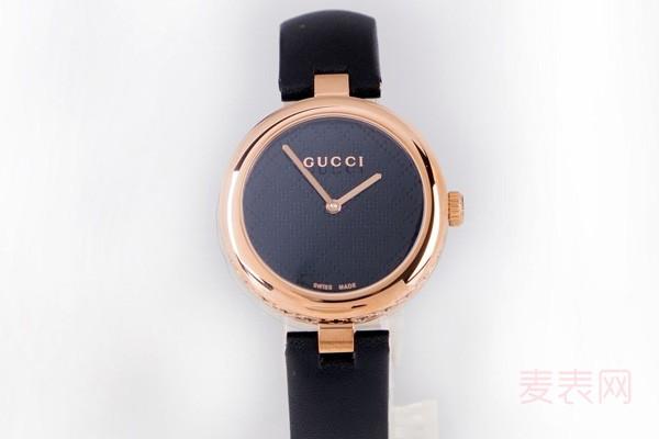 gucci手表回收几折得看市场流通性