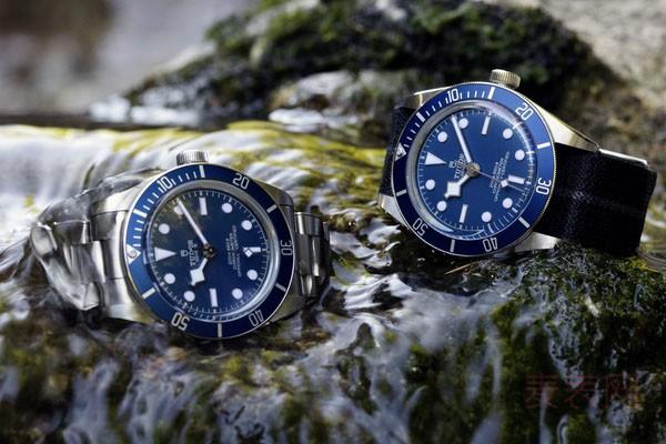 帝舵碧湾1958二手手表回收能卖多少钱