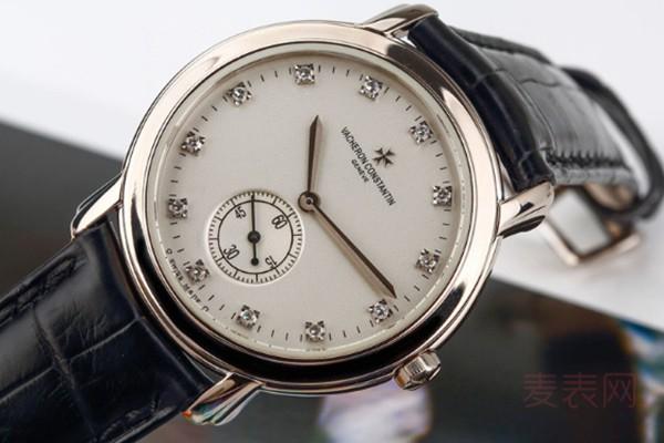 江诗丹顿男士腕表回收价格受使用时保养情况所影响