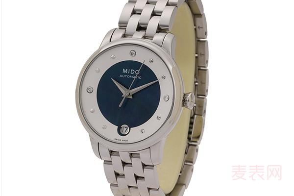 美度手表新的7000左右回收多少钱 在市场中属于什么档次