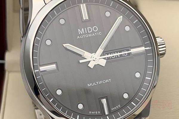 二手美度2836机芯的手表回收价格能打几折