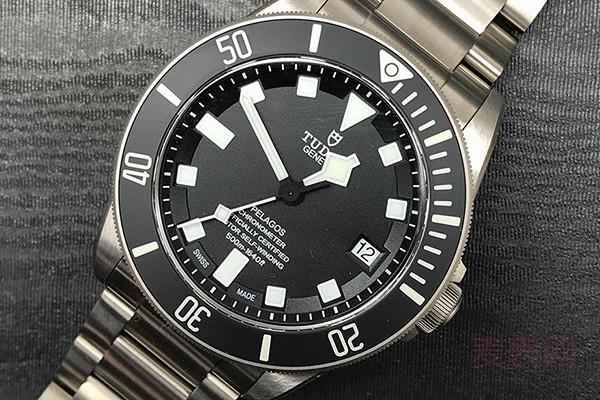 二手帝舵手表回收一般什么价格
