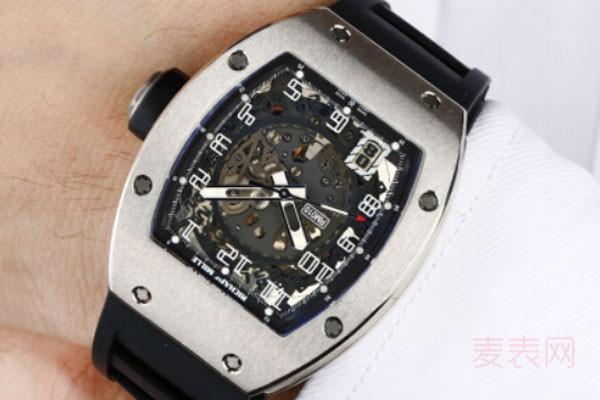二手理查德米勒手表价格有望打对折吗