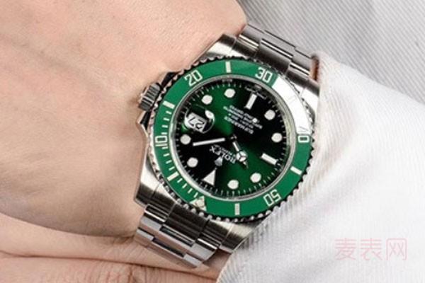 劳力士绿水鬼手表回收价格为何居高不下