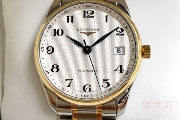 二手的浪琴手表回收能卖多少钱